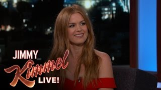 flushyoutube.com-Isla Fisher on Making Out with Zach Galifianakis & Gal Gadot