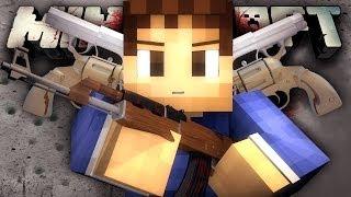 getlinkyoutube.com-CRAZY EPIC SNIPER BATTLE! (Minecraft: HUNGER GAMES WITH GUNS!)