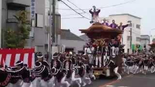 getlinkyoutube.com-平成27年10月10日 八木地区だんじり祭り 曳き出し