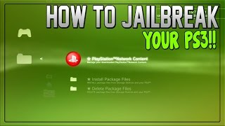 "getlinkyoutube.com-How to: ""Jailbreak Ps3"" - ""How to Jailbreak your PS3"" *EASY*"