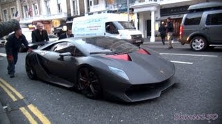 getlinkyoutube.com-Lamborghini Sesto Elemento £2.3m Hypercar - First time in London