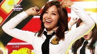 getlinkyoutube.com-2nd Week of April & Apink - Mr.Chu (2014.04.11) [Music Bank K-Chart]