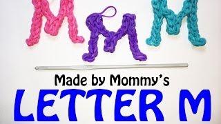 getlinkyoutube.com-Rainbow Loom Letter M Charm Using Just the Hook