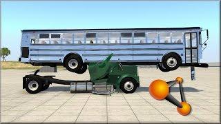 getlinkyoutube.com-BeamNG Drive Slow Motion Crash Testing #164