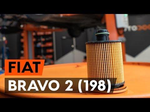 Как заменить моторное масло и масляный фильтр на FIAT BRAVO 2 (198) [ВИДЕОУРОК AUTODOC]