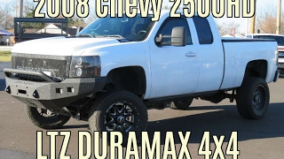 getlinkyoutube.com-2008 Chevy 2500HD Lifted DURAMAX DIESEL!!! SOLD!!!