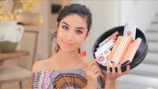 NEW ColourPop's Nectar Collection Tutorial + Overview || Spring 2017