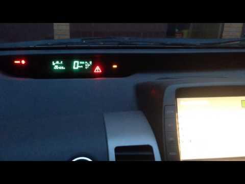 Ошибка тормозной системы Toyota Prius 20