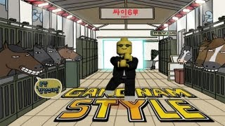 getlinkyoutube.com-Lego Gangnam Style (강남스타일)