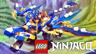getlinkyoutube.com-레고 닌자고 제이의 원소 드래곤 70602 스카이 해적 조립 리뷰 Lego NINJAGO Jay's Elemental Dragon 2016 신제품