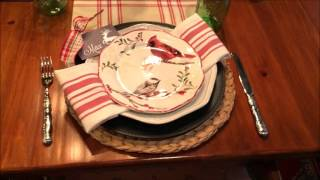 getlinkyoutube.com-French Farmhouse Christmas Kitchen Video