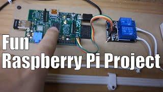 getlinkyoutube.com-Easy Raspberry Pi Garage Door Remote over Wifi (home automation)