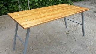 getlinkyoutube.com-Складной столик для пикника