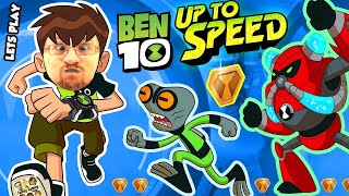getlinkyoutube.com-ALIENS INVADE FGTEEV!!  BEN 10: UP TO SPEED Cartoon Network Game w/ Duddy & Omnitrix (Ben 10 Reboot)