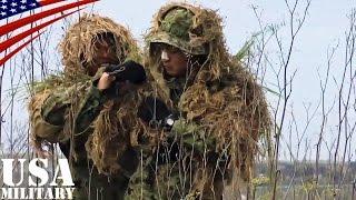 getlinkyoutube.com-陸上自衛隊スカウトスナイパー(前哨狙撃兵)訓練・ギリースーツ