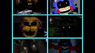 getlinkyoutube.com-Road to five nights at Freddy's 4 Sparta remix quadparison 6