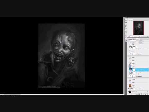 Grayscale to Color tutorial - www.DaveRapoza.com