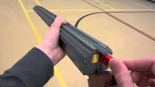 getlinkyoutube.com-LEGO Double Barrel Shotgun - Life Size - World at War Zombies