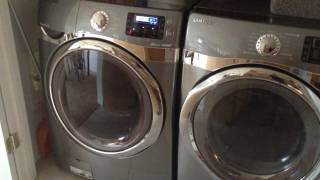 getlinkyoutube.com-Samsung Front Loader Washer and Dryer Review WF520ABP - DV520AEP