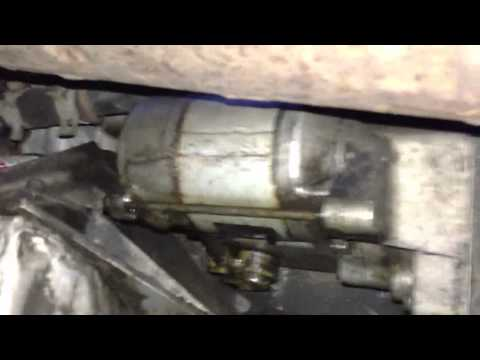 2001 Chrysler 300m starter location and View