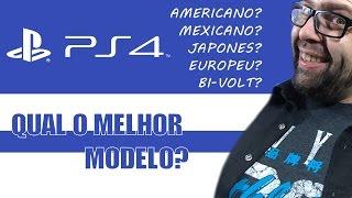 getlinkyoutube.com-PS4 - Existe Diferença de Modelos? Mexicano, Japones, Americano, Europeu!!!