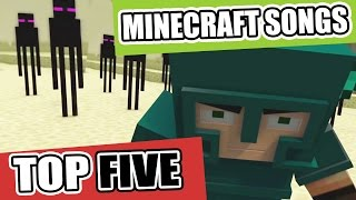 getlinkyoutube.com-♪ Top 5 Minecraft Songs and Animations of January 2017 ♪ NEW Best Minecraft Song Compilations ♪