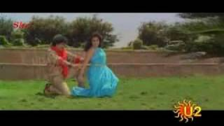 Ravichandran-song-with-Meena-from-cheluva width=