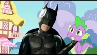 getlinkyoutube.com-Batman meets My Little Pony