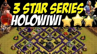 getlinkyoutube.com-3 Star Series: TH 9 vs Close to Max TH 9 Defenses - HOLOWIWI | Clash of Clans