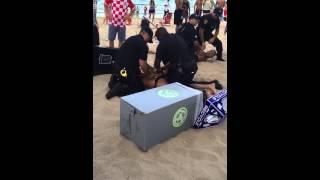 getlinkyoutube.com-Fort Lauderdale Beach Party Fight Memorial weekend 2015
