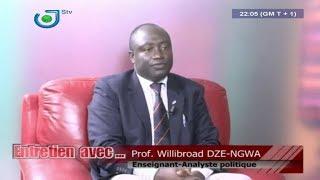 Entretien Avec ... Prof. Willibroad DZE-NGWA - Dipita TONGO (Cameroun)