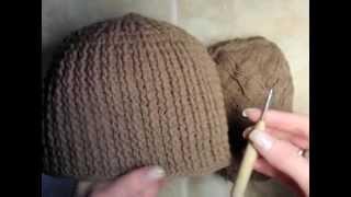 getlinkyoutube.com-0  Как связать мужскую шапку, образец