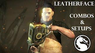 getlinkyoutube.com-MKX - Leatherface Combos & Setups (36%-88%)