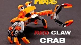 getlinkyoutube.com-LEGO® Mixels - Series 2 Flexers Max #REMIXEL - RED CLAW CRAB - Custom Design