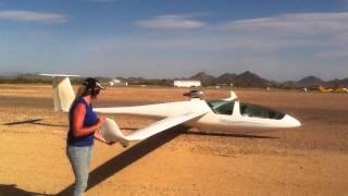 getlinkyoutube.com-Bonus jet Takeoff Turf Soaring AZ