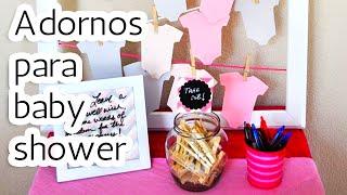 getlinkyoutube.com-40 Adornos para decorar tu Baby shower HD