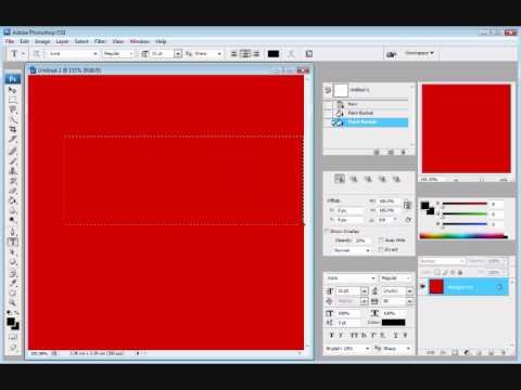 How to add text and text effects using Photoshop CS3 Extended