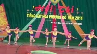 getlinkyoutube.com-Nhảy aerobic bài Bông Hồng Tặng Cô - Nhuận Phú Tân - Hội thi tiếng hát Hoa Phượng Đỏ Mỏ Cày Bắc