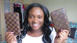 getlinkyoutube.com-Louis Vuitton Zippy Compact Wallet Unboxing