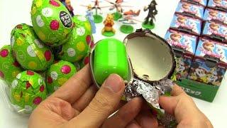getlinkyoutube.com-Disney Characters Surprise Egg 1 Box ~ チョコエッグ ディズニーキャラクター4 ボックス開封