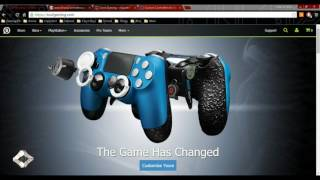 getlinkyoutube.com-Custom Gaming Controllers - SCUF, SharQ, Cinch, TCS - Paddles vs. Buttons!!
