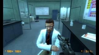 getlinkyoutube.com-Fun With Freeman - Black Mesa Source (Mucking Around)