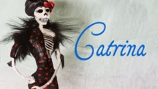 getlinkyoutube.com-Crea una catrina decorativa (DIY) - Soy Georgio