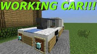 getlinkyoutube.com-Minecraft PS3, PS4, Xbox, Wii U - WORKING CAR with SLIME BLOCKS! SLIME BLOCK CAR! - Easy Tutorial!!!