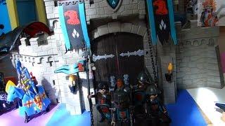 getlinkyoutube.com-playmobil chevalier Dragons Faucon Knights