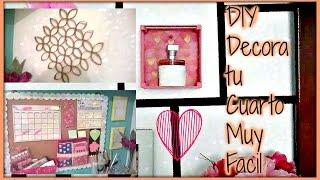 getlinkyoutube.com-DIY Decora tu cuarto muy bonito y facil