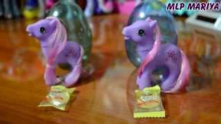 getlinkyoutube.com-Обзор на поддельные яйца My sweet pony. Май литл пони.