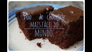 getlinkyoutube.com-bolo de chocolate mais fácil do mundo.