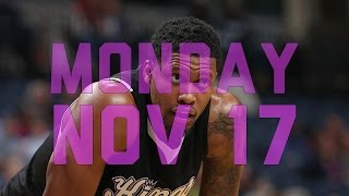 getlinkyoutube.com-NBA Daily Show: Nov. 17th – The Starters