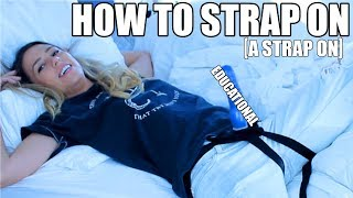 All About Strap Ons --  Lesbian Sex 101 [ Episode 5 ] width=